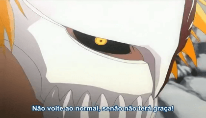 Bleach  Episódio 166 - Poder mortal vs. poder mortal. Hollow Ichigo