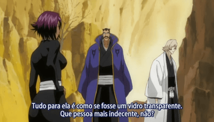 Bleach  Episódio 212 -  Salvem Hirako Shinji! Aizen vs. Urahara