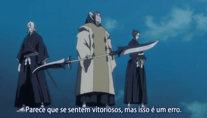 Bleach  Episódio 319 - A Rede de Captura de Ichigo! Escape da Soul Society!