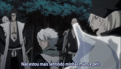 Bleach  Episódio 365 - Ichigo VS Ginjou! O segredo, do emblema do Substituto