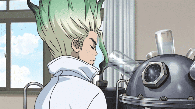 Dr Stone  Episódio 2 - King of the Stone World