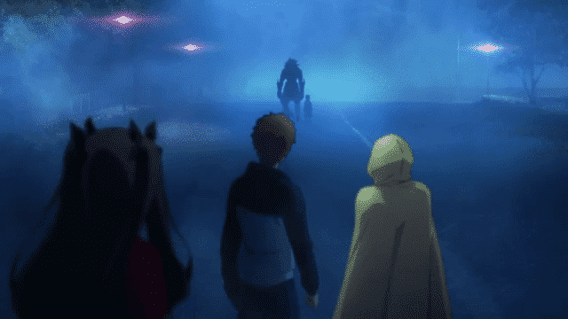 Fate/Stay Night: Unlimited Blade Works  Episódio 11 - A Passos Leves Chega O Visitante
