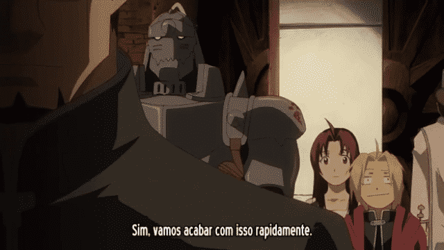 Fullmetal Alchemist Brotherhood  Episódio 15 - Emissario do Leste