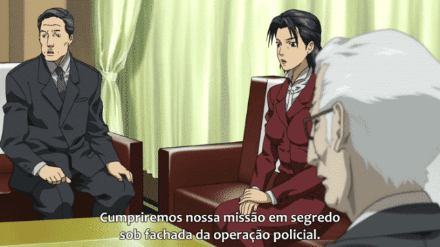 Ghost In The Shell: Stand Alone Complex 2nd GIG  Episódio 13 - Maquiagem