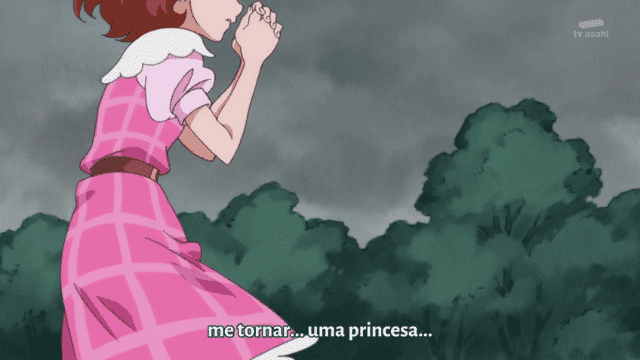 Go! Princess Precure  Episódio 2 - A princesa da academia! Cure Mermaid Aparece!