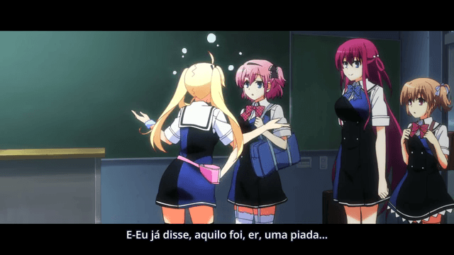 Grisaia no Kajitsu  Episódio 10 - Grito Angelical I
