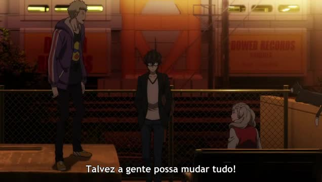 Persona 5: The Animation Episódio 5 - Os Fantasmas