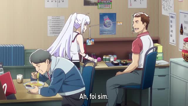 Plastic Memories  Episódio 11 - O Dia Do Omurice