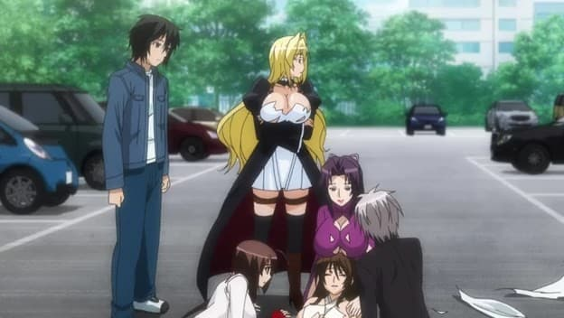 Sekirei: Pure Engagement 2° Temporada  Episódio 10 - O Fim Do Céu