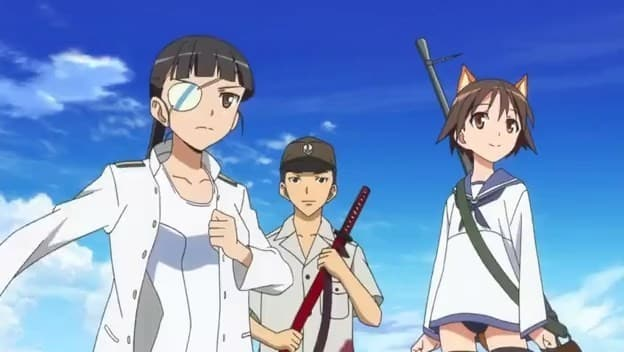 Strike Witches 2 Episódio 2 - As Witches Lendarias