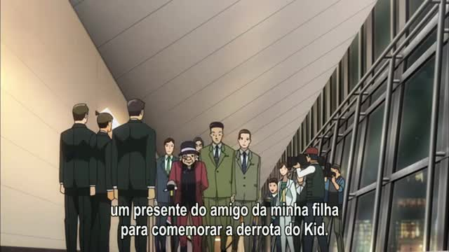 Magic Kaito 1412  Episódio 23 - Midnight Crow (Parte Um): O Nome é Kaitou Corbeau!