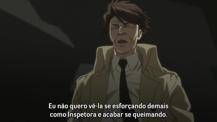 Psycho-Pass – 1° Temporada Episódio 21 - Manchado de sangue Recompensa