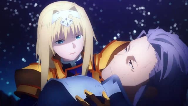 Sword Art Online Alicization War of Underworld  Episódio 8 - Sangue e Vida