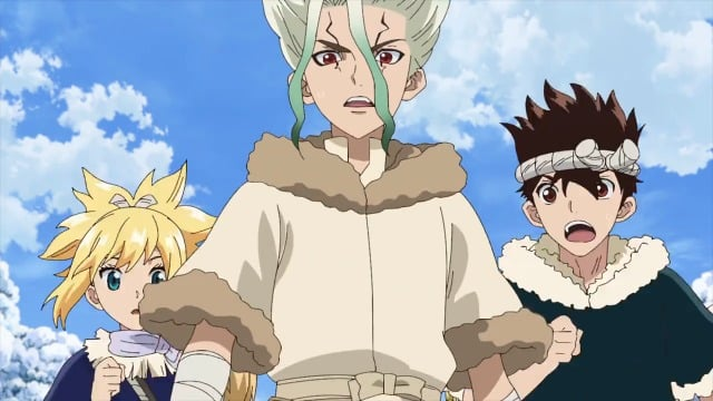 Dr Stone  Episódio 24 - Voices Over Infinite Distance