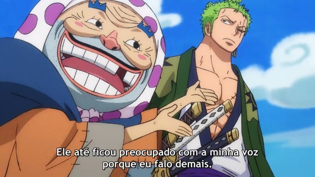 One Piece  Episódio 923 - Estado de Emergência! Big Mom se Aproxima!