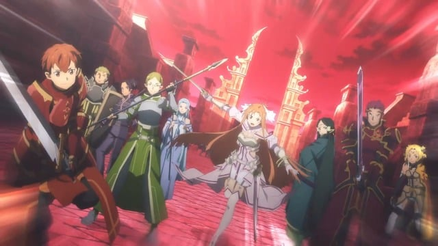 Sword Art Online Alicization War of Underworld  Episódio 14 - O fim da eternidade