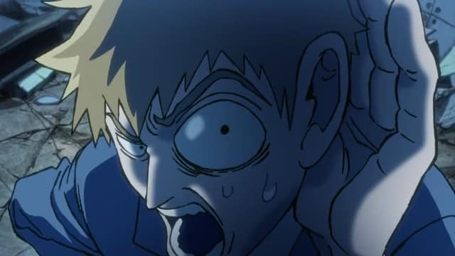 Mob Psycho 100  Episódio 12 - Mob and Reigen ~Surge Um Gigantesco Tsuchinoko~